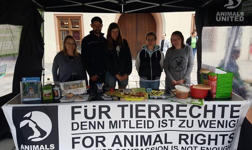 Unsere Aktionsgruppe in Landshut
