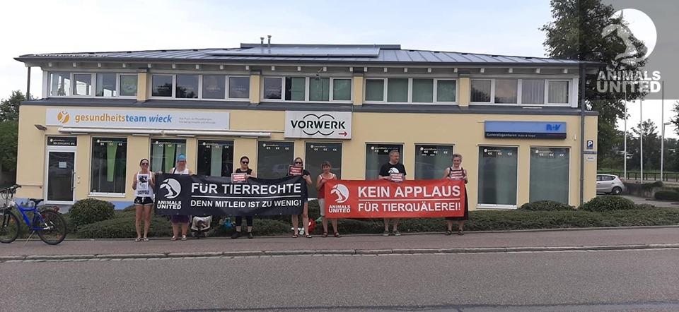 Aktionsgruppe Donau Ries beim Scharlachrennen in Nördlingen