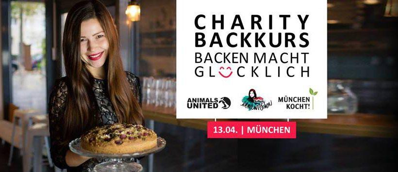 Charity Backkurs – Backen macht glücklich – München
