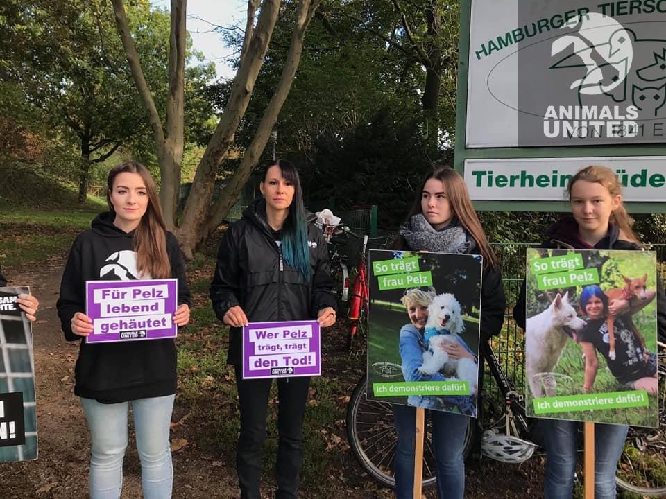 Animals United zu Besuch beim Tierschutzfest des Hamburger Tierschutzverein