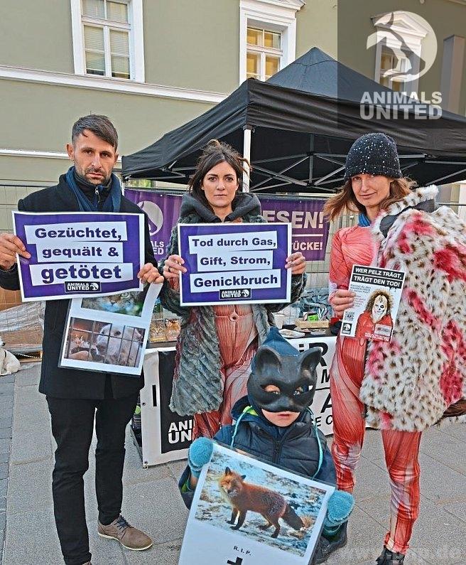 Infostand in Passau