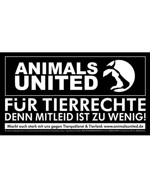 Auto Aufkleber Animals United