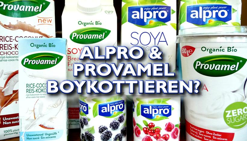 Boykott von Alpro und Provamel?