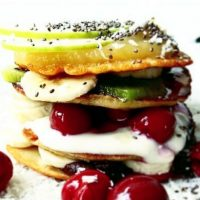 Tierleidfrei genießen: Bananen-Pancakes