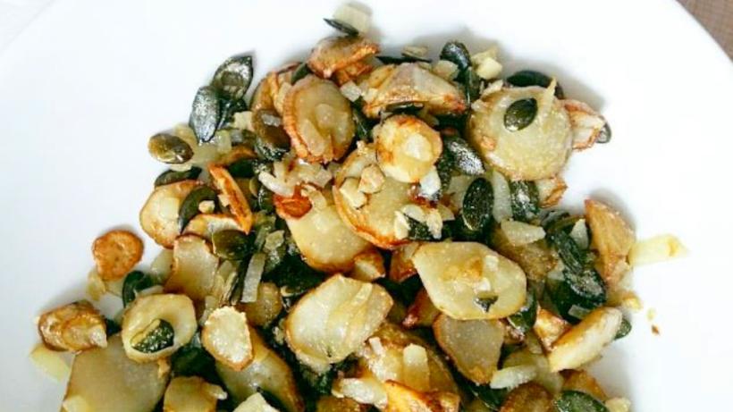 Tierleidfrei genießen: Ofen-Topinambur