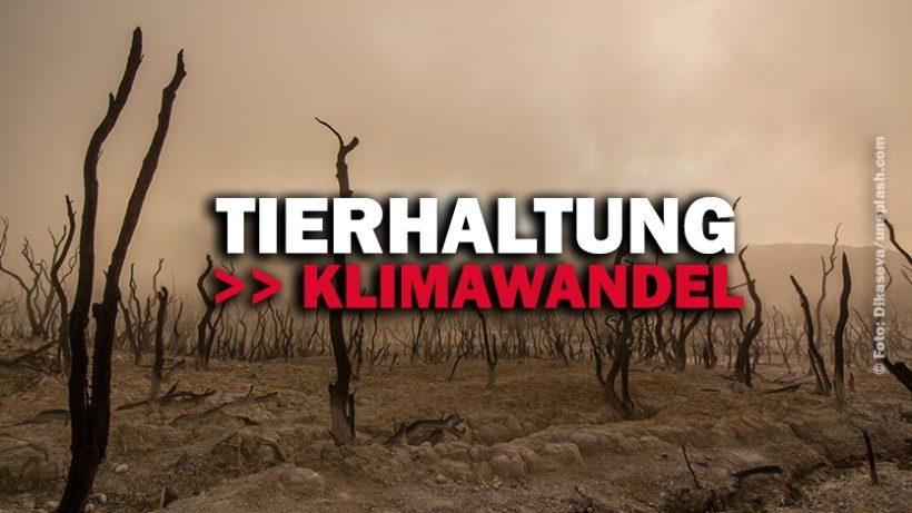 """Von der Tier""""haltung"""" zum Klimawandel"""