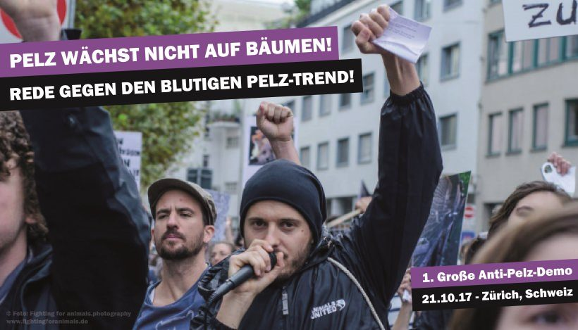 Vorwärts in die Vergangenheit: Der Neo-Neandertaler – Rede gegen Pelz / Zürich, 21.10.17