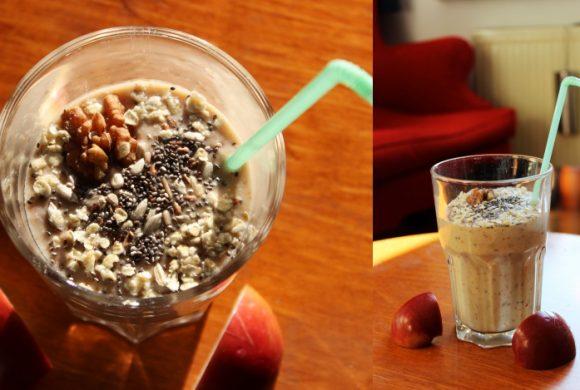Tierleidfrei genießen: Apfel-Zimt-Smoothie