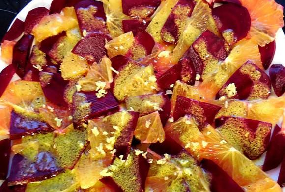 Tierleidfrei genießen: Rote-Beete-Orangen Salat