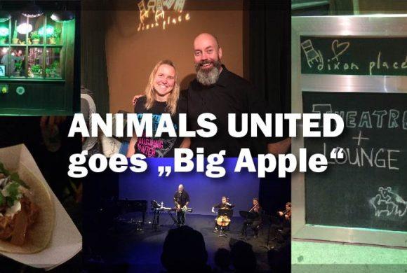 ANIMALS UNITED goes Big Apple: Wir sind alle eins!