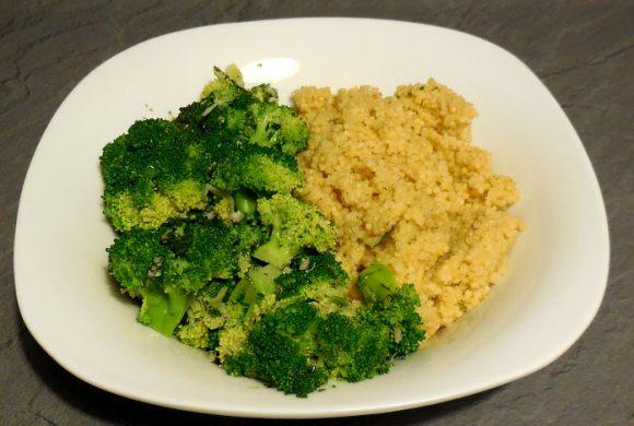 Tierleidfrei genießen: Brokkoli mit Hirse