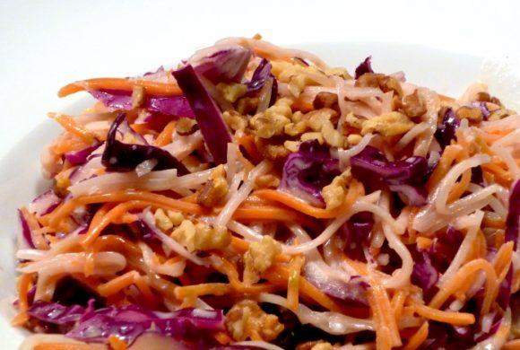 Tierleidfrei genießen: Coleslaw – Amerikanischer Krautsalat