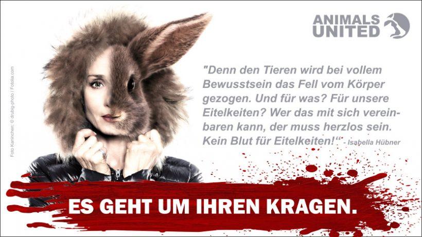 """""""Sturm der Liebe""""-Star Isabella Hübner gegen Pelz"""