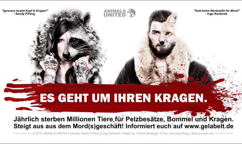 """""""Es geht um IHREN Kragen!"""" – Ingo Kantorek und Sandy P. Peng gegen Pelz"""