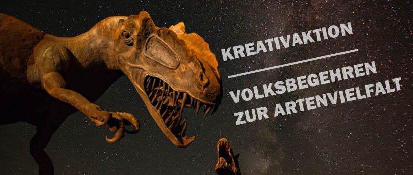 Volksbegehren zur Artenvielfalt – Kreativaktion