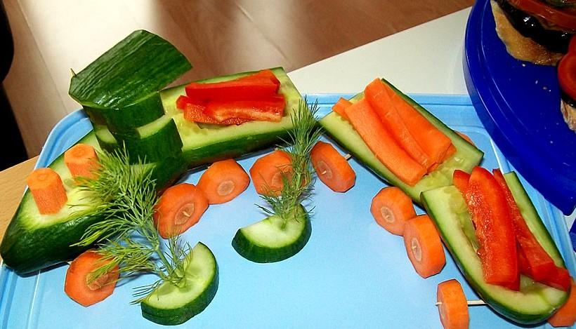 Tierleidfrei genießen: Gemüse-Zug