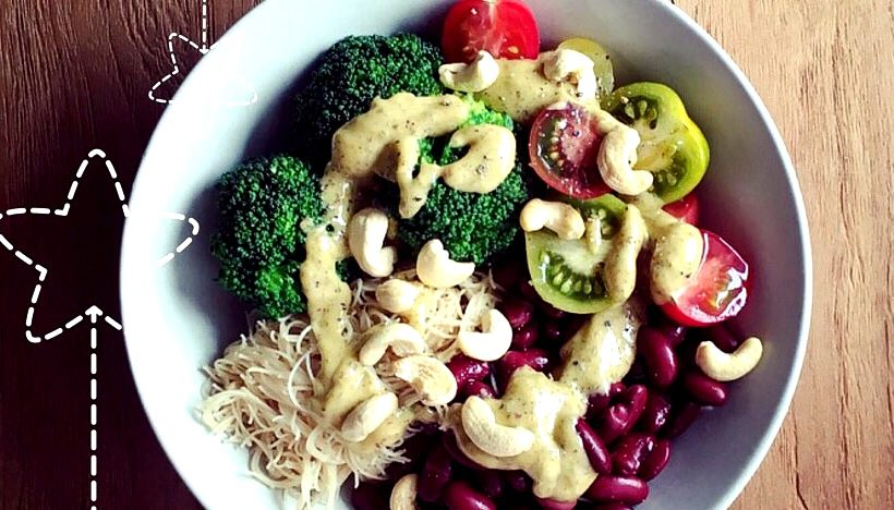 Tierleidfrei genießen: Gemüsebowl