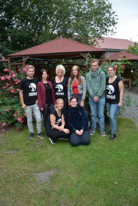 Leiter der Gruppe: Tobias und Katharina