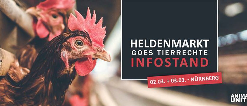 Heldenmarkt goes Tierrechte