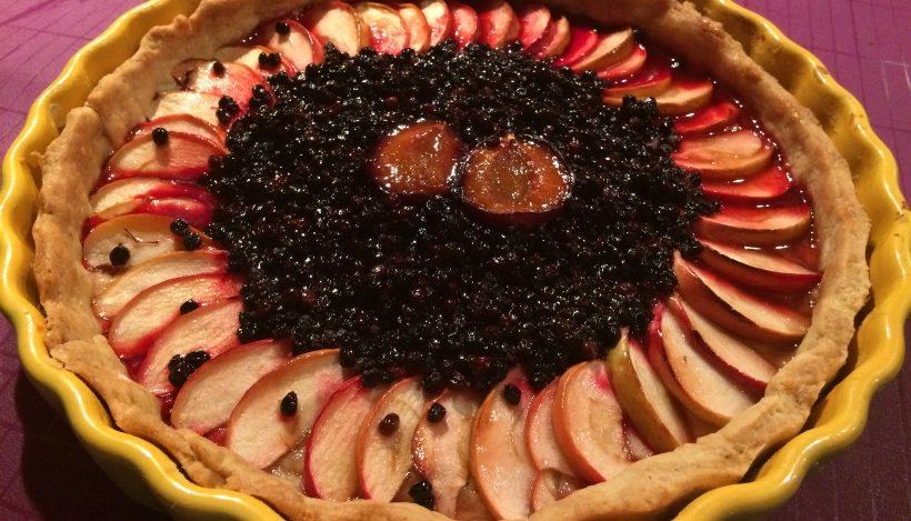 Tierleidfrei genießen: Herbstliche Obsttarte