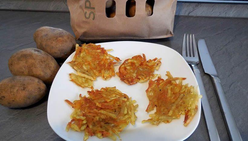Tierleidfrei genießen: Kartoffelpuffer