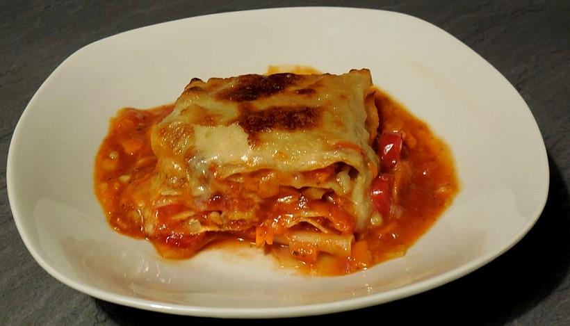 Tierleidfrei genießen: Lasagne