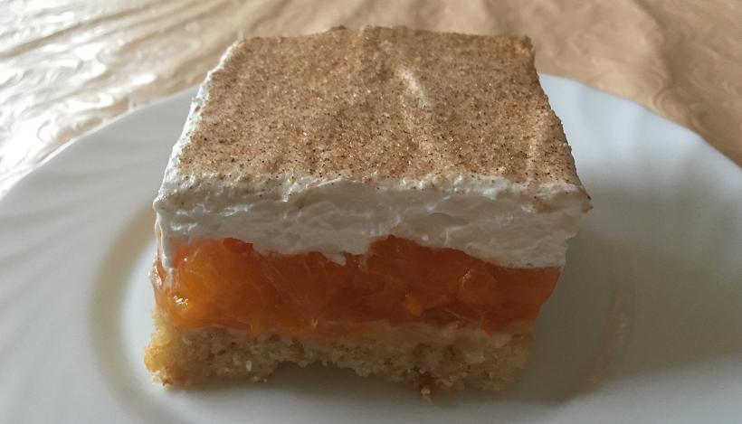 Tierleidfrei genießen: Mandarinen-Sahne-Schnitten