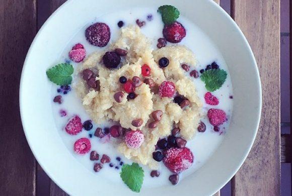 Tierleidfrei genießen: Quinoa mit Zimt und Früchten