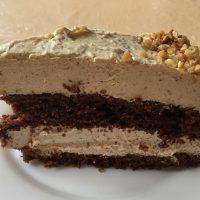 Tierleidfrei genießen: Schoko-Nuss-Torte