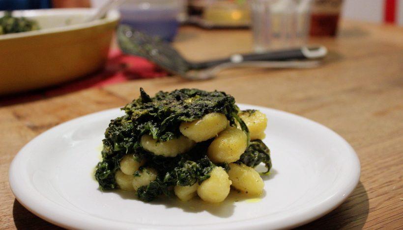 Tierleidfrei genießen: Spinat-Gnocchi-Auflauf