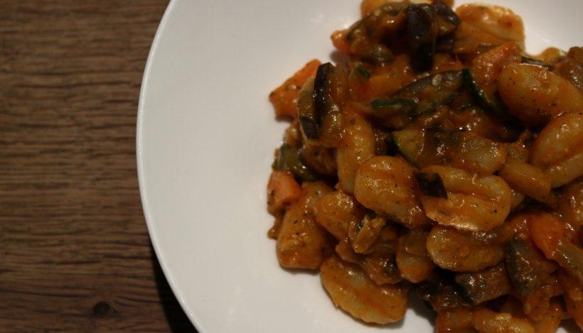 Tierleidfrei genießen: Gnocchisalat