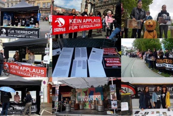 WHAT A WEEK: Von Infoständen bis stiller Protest vor Zirkus Krone