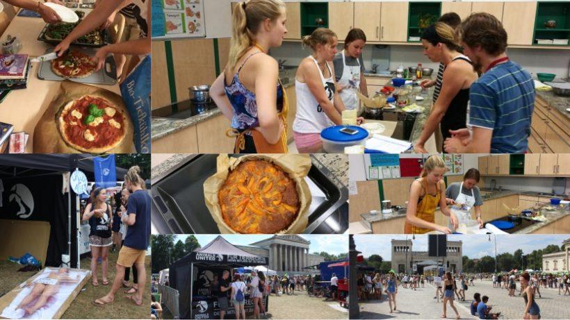 WHAT A WEEK: Von Kochkurs bis Infostand auf Festival
