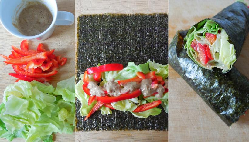 Tierleidfrei genießen: Salat-Wrap