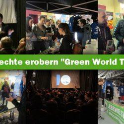 """Tierrechte erobern Nachhaltigkeitsmesse """"Green World Tour""""!"""