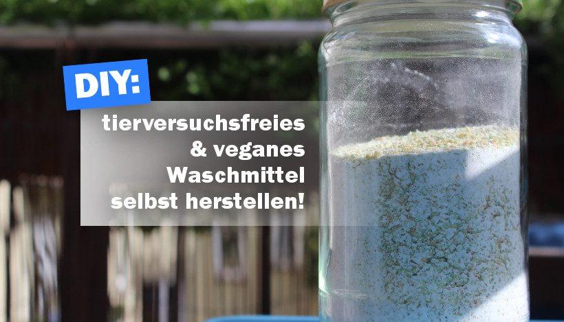 DIY: Waschmittel ganz einfach selbst herstellen!