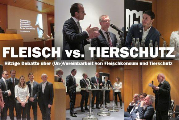 Fleisch vs. Tierschutz – Angespannte Diskussionsrunde in Frankfurt