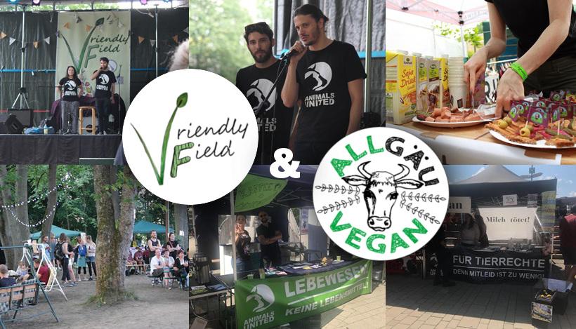Wir erobern Chemnitz und Kempten mit veganen Festen!