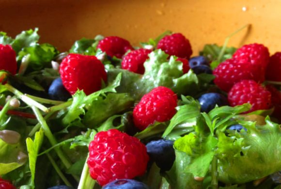 Tierleidfrei genießen: Fruchtiger Sommersalat