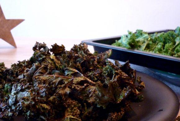 Tierleidfrei genießen: Crunchy Grünkohl-Chips