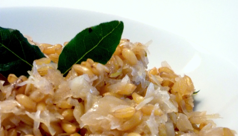 Tierleidfrei genießen: Kamut-Sauerkraut-Pfanne