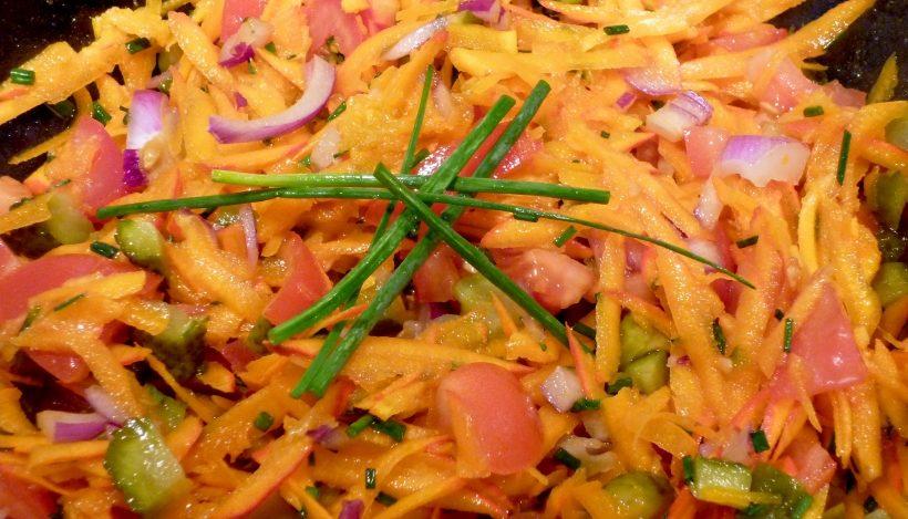 Tierleidfrei genießen: Herbstsalat