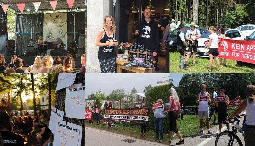 WHAT A WEEK: Tierleidfreies Fest & Proteste für tierleidfreie Unterhaltung