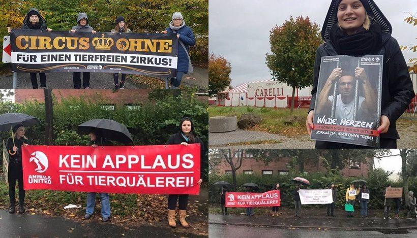 WHAT A WEEK: CircusOHNE-Mahnwachen!