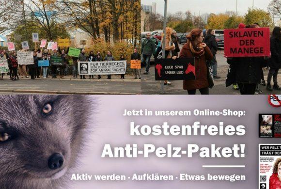 WHAT A WEEK: Kostenloses Anti-Pelz-Paket und CircusOHNE Demo in Chemnitz!