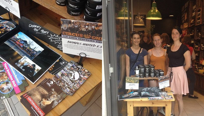 WHAT A WEEK: Charity Pot Party bei Lush!